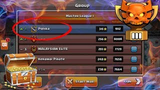 Clan War Leagues #1 🌟 Klan Polska 🌟 Clash of Clans Polska 2018