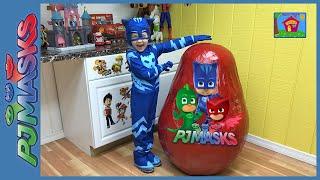 最大PJ面具驚喜蛋玩具永遠&巨人迪士尼初級蛋玩具驚喜CatBoy IRL幻燈片null