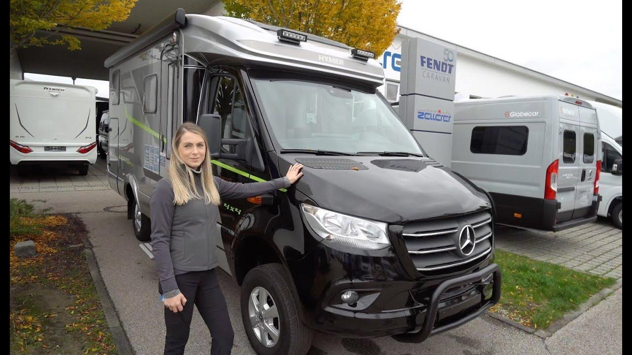 Weltpremiere: Hymer Crossover ML-T 10 10x10 10 Mercedes Benz Sprinter. Das  Allrad Wohnmobil.