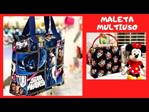 DIY Maleta do Papai - DIY Travel bag - Tuto coudre un Sac