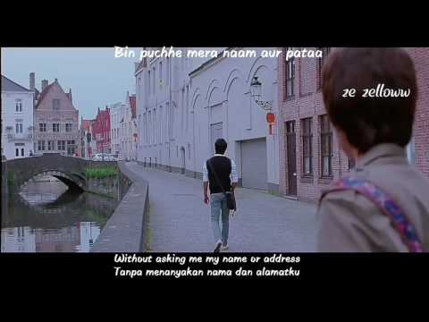 Chaar Kadam ~ PK OST with lyrics + Eng sub + Ind sub (sensor)