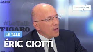 Le Talk d'Éric Ciotti: «Les solutions à la crise sont la baisse des impôts et de l'immigration»