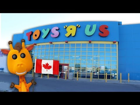 Toys R Us Still Open In Canada | TRU Exclusive Pops!