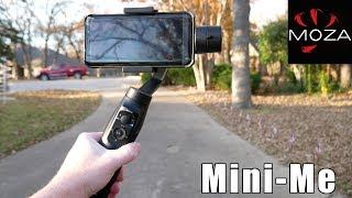 MOZA Mini-Me 3-Axis Smartphone Gimbal Review - My Likes & Dislikes