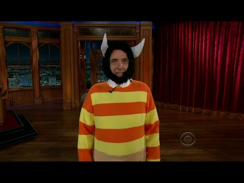 Late Late Show with Craig Ferguson 10/31/2012 Rashida Jones, David Morrissey