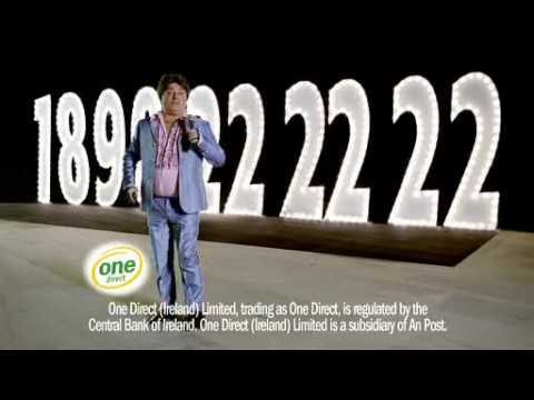 Pat Shortt One Direct TV ad. One Direct Car Insurance 1890 222222