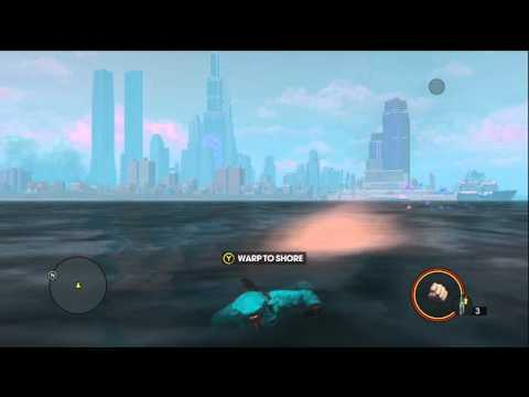Saints Row 3 Glitch: Fly On Water / Fall Through Steelport