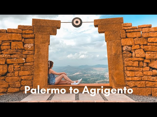 A night in Palermo, seeing the Teatro di Andromeda and visiting Valle Dei Templi | Sicily #1