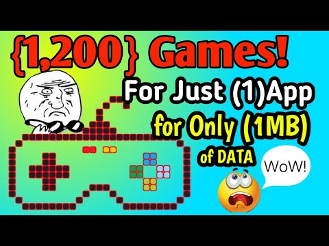 how to download 1200 games only in 1 MB - Myhiton