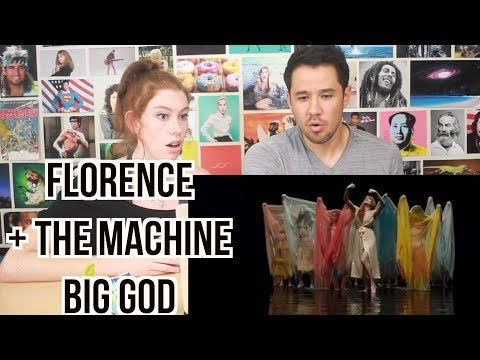 Florence + The Machine - Big God - REACTION!
