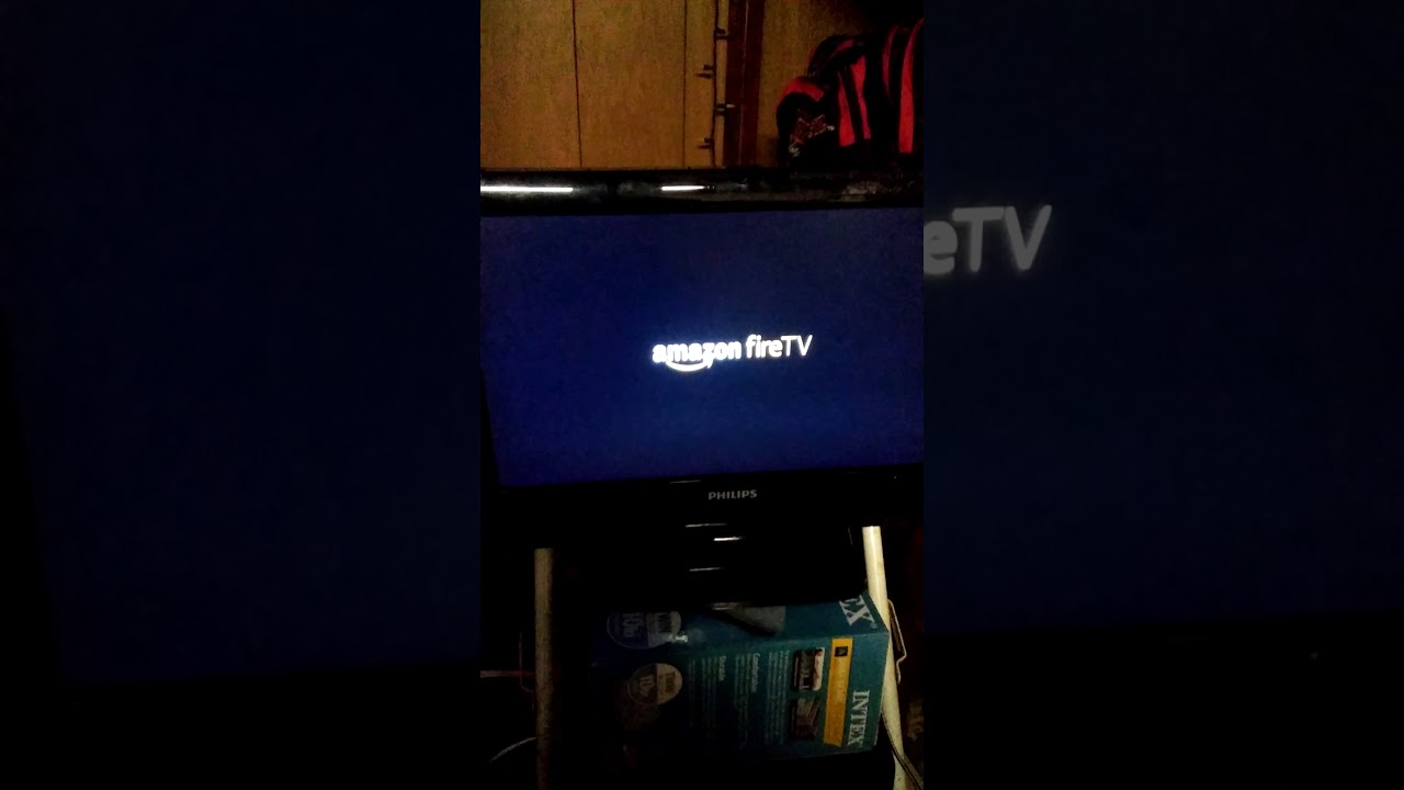 Fire TV running Android Leanback launcher