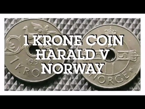 1 Krone Coin - Harald V, Norway