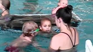 First swimming lessons 2010