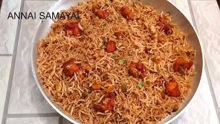 ரடடககட சககன பரட ரஸ  Roadside Chicken Fried Rice Recipe  Chicken Fried Rice Tamil