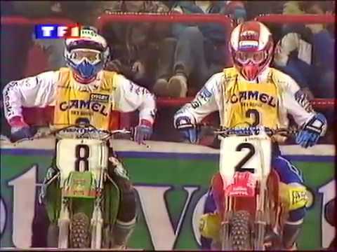 Supercross 1992 Paris Bercy - French