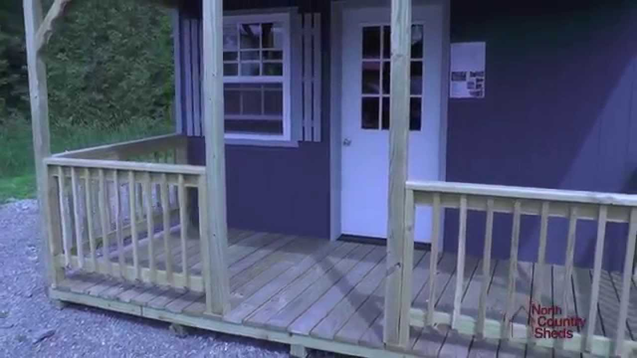 Cabins And Bunkies Pre Built Cabins Cabin Plans Youtube