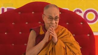 """Далай-лама. Учения по """"Бодхичарья-аватаре"""" в Санкисе. День 1"""