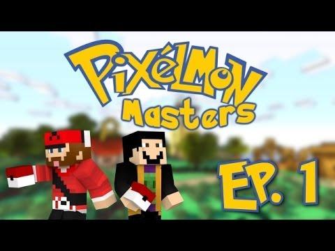 Minecraft: Pixelmon Masters W/ SlyFox! [Ep.1] DIVE BALL CYNDAQUIL?!