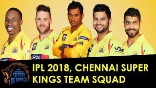 Ipl player list 2018 csk | csk team full list & squad