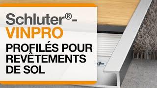 Comment installer les profilés pour revêtements de sols en vinyle Schluter®-VINPRO