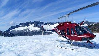 Alaska Juneau Ice Field Flightseeing アラスカ ジュノー・アイスフィールド フライトシーイング