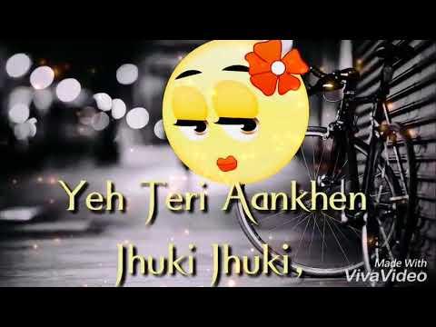 😍-yeh-teri-aankhe-jhuki-jhuki-😍-||-what's-up-status-||-mr-creation