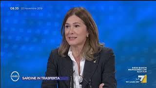 """Sardine, Francesca Donato: """"Sono giovani di sinistra non hanno argomenti. Salvini non incita ..."""