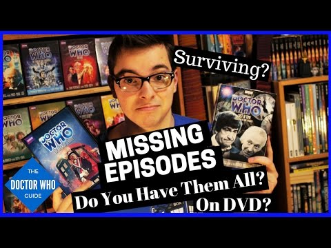 Doctor Who Missing Episodes - 1st Dr  Part 1 - Collect the Surviving Eps. on DVD!