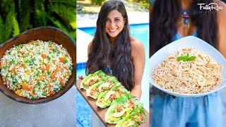 3 DELICIOUS & EASY FULLYRAW VEGAN DINNER RECIPES!