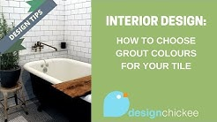 Interior Design Tips: How to choose grout colour for your tiles