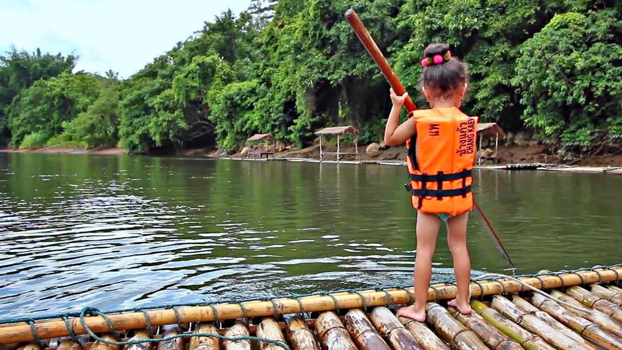 BAMBOO RAFTING KANCHANABURI - ล่องแพ กาญจนบุรี