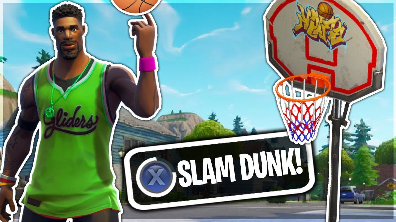 3bed65b38 JUMPSHOT SKIN Can PLAY  BASKETBALL  in Fortnite Battle Royale! - YouTube