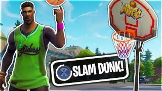 JUMPSHOT SKIN puede jugar *BASKETBALL* en Fortnite Battle Royale!