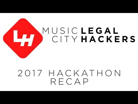 What is a legal hackathon? (Music City Legal Hackathon 2017 @ Vanderbilt Law School)