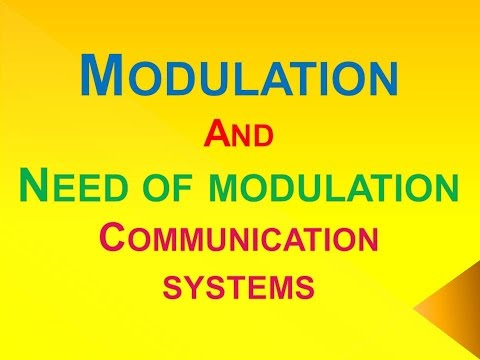 What is need for modulation in communication system | B.TECH | CBSE 12 | SSC CGL |SSC CHSL | NDA