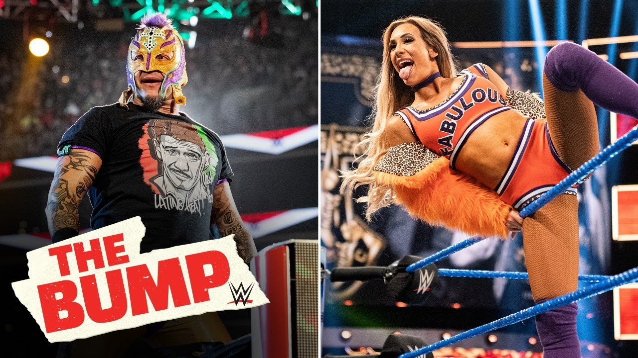 Rey Mysterio, Carmella speak on all things Money in the Bank: WWE's The Bump: April 29, 2020