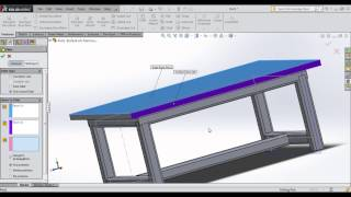 Solidworks Tutorial | Working With Weldments | How To Make Chair In Solidworks