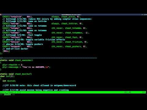02 Doom Custom Cheat Code with Prboom GCC Linux Tutorial