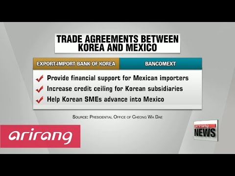Korea and Mexico agree to increase cooperation in various fields