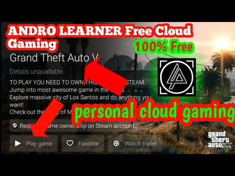 Gta 5 free play on AL Cloud Gaming 2017|By Andro Learner