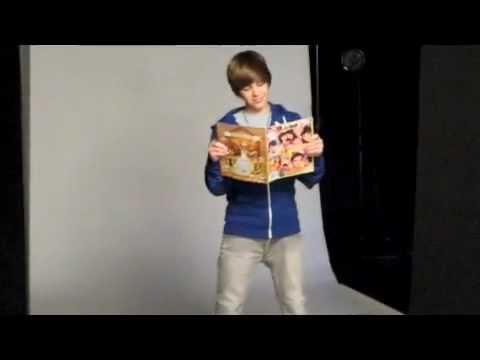 Justin Bieber baila y posa para una revista  (popstar)