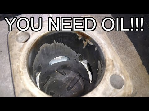 Why 2 Stroke Bikes NEED OIL