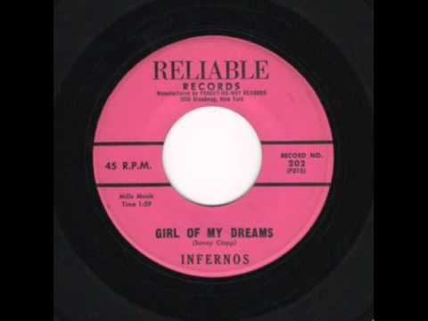 Infernos - Girl Of My Dreams / A Sailor's Prayer (Reliable 202) 19xx