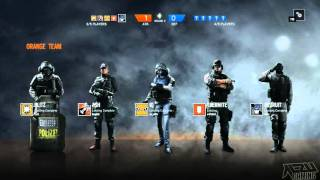 Rainbow Six Siege Competitive Rank Part 1 Gameplay PC