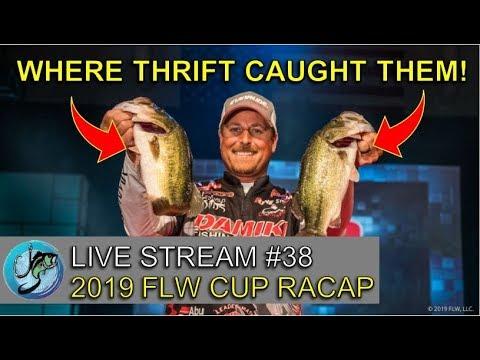 2019 FLW Cup Recap | Fish The Moment Live Stream #38