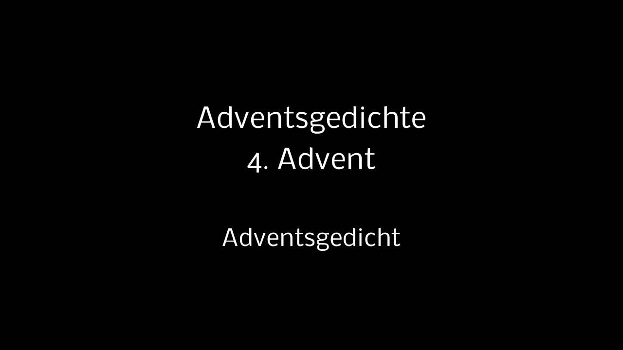 adventsgedicht