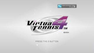 Virtua Tennis 4 Wii Gameplay