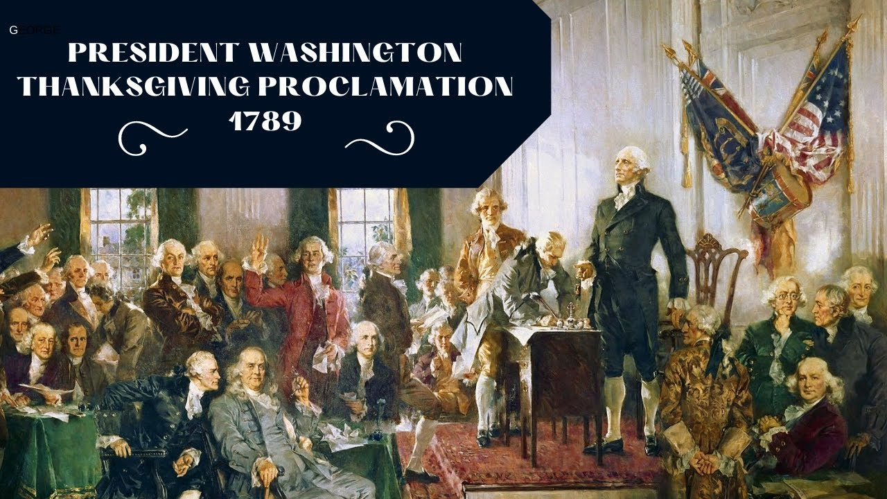 Thanksgiving Day Proclamation