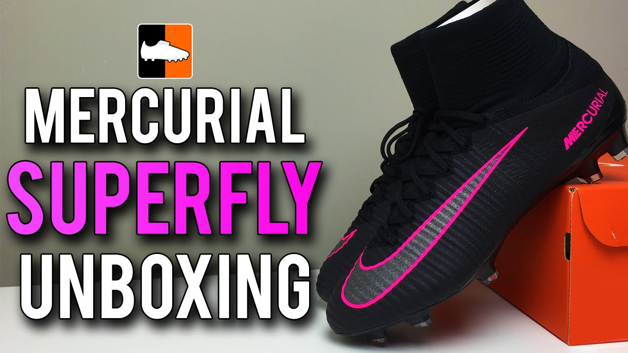fef19ae9534dd Pitch Dark Superfly V Unboxing | Nike Black Mercurial Football Boots -  YouTube