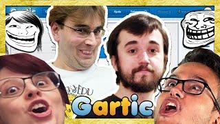 QUEM DOMINA O GARTIC? - com Leon, Damiani, Edu e Satty